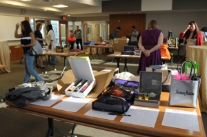 A scene from our awesome 2012 silent auction.
