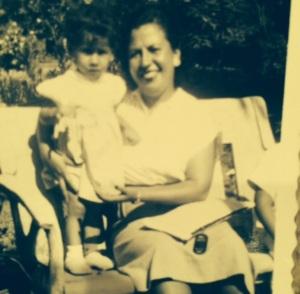 iris burkhart and mother