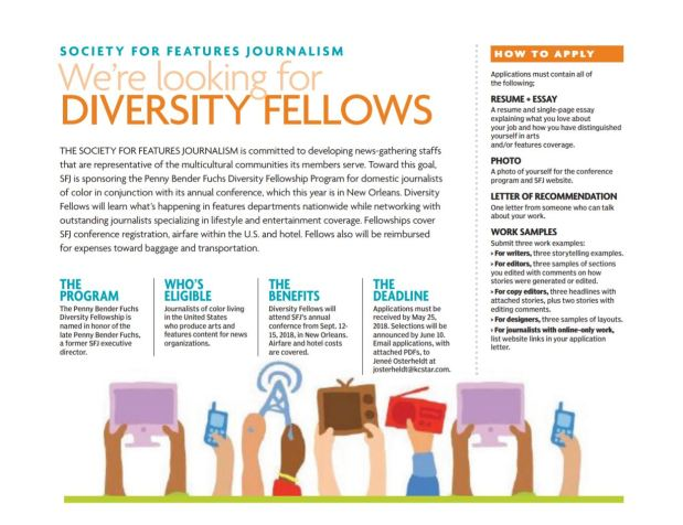 SFJ diversity fellowship seeks journalists of color to join us in New Orleans