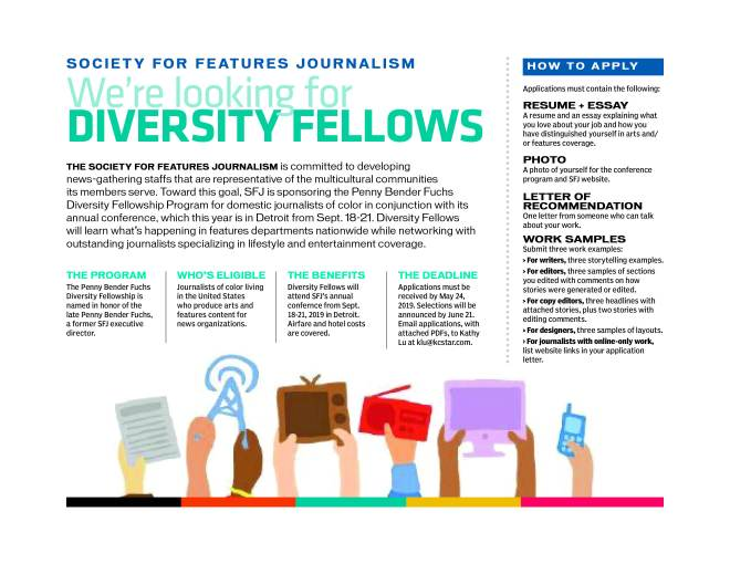 87416ac9b Society for Features Journalism – Promoting the craft of writing and ...